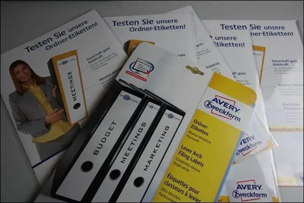 Ordner-Etiketten von Avery Zweckform