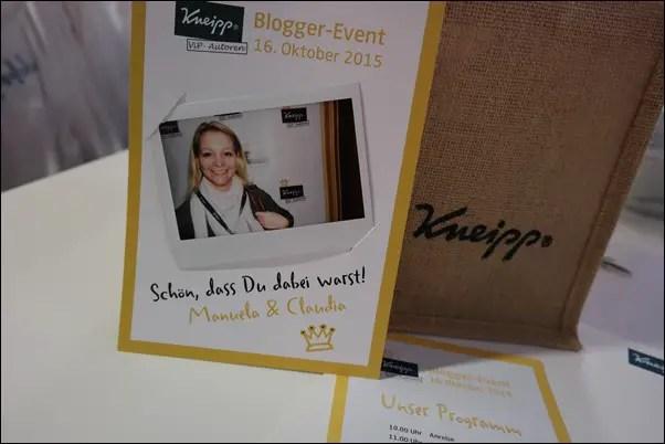 Kneipp Bloggerevent #KneippVips