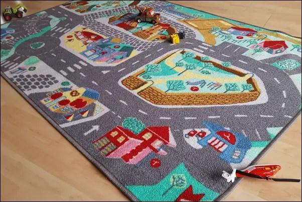 TEPPINO der Spielteppich oder Kinderteppich mit App