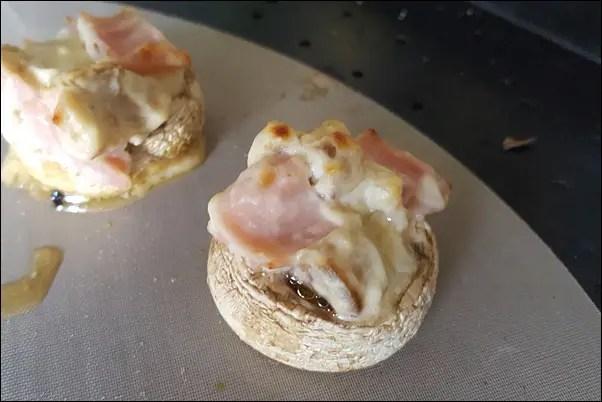 gefüllte Pilze lowcarb machst du schnell & einfach