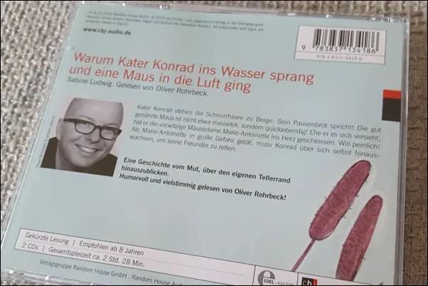 Warum Kater Konrad ins Wasser sprang