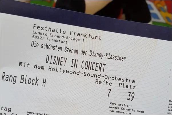 Disney in Concert in Frankfurt 2016