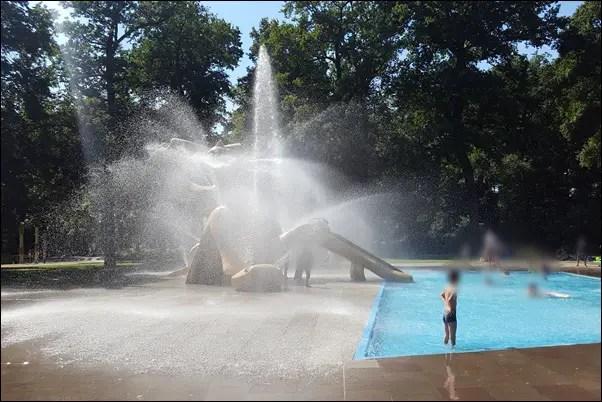 Wasserspielplatz Frankfurt Schwanheim