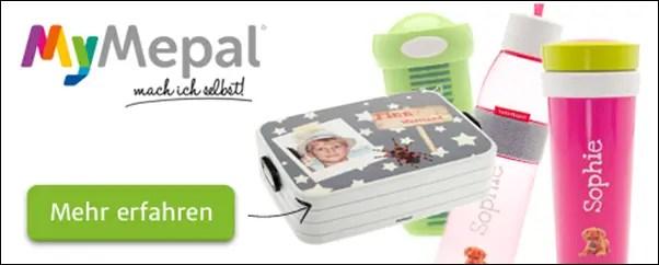 MyMepal Brotdosen in bunt und individuell