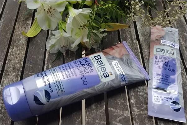 Silbershampoo gegen Gelbstich Balea