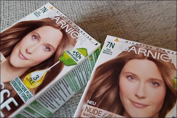 Unfall beim Haarefärben mit Garnier Nutrisse N7 – Asch und Grünstich!