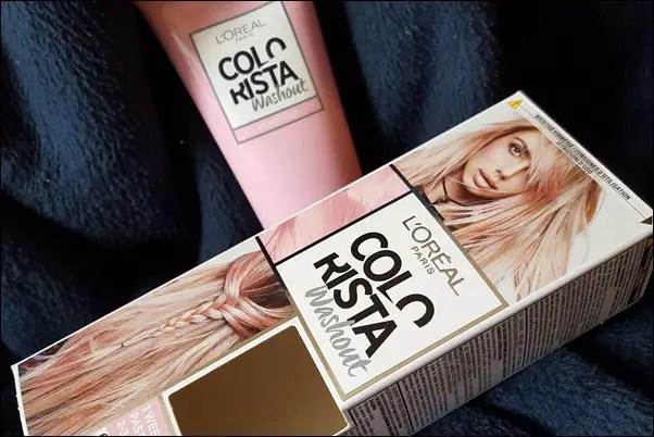 L'Oréal Colorista Spray & Washout - pinke Haare