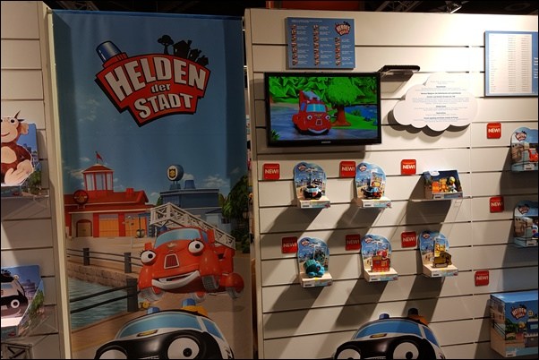 Spielwarenmesse 2017 Helden der Stadt