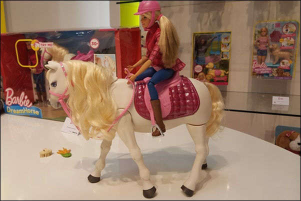 Spielwarenmesse 2017 Mattel Barbie
