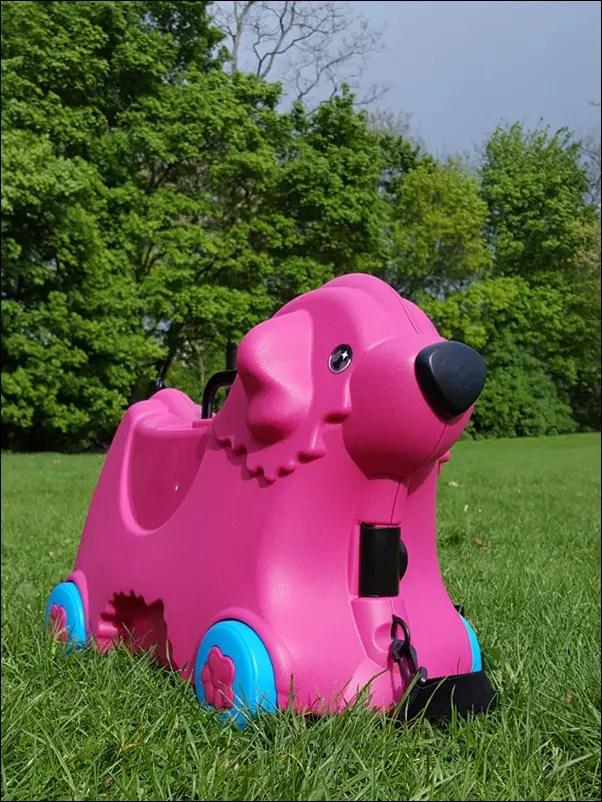 BIG-Bobby-Trolley Hund in Pink