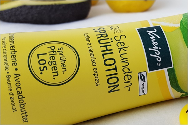 Kneipp Sekunden-Sprühlotion Zitrone Avocado