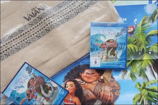 VAIANA auf DVD und Blu-ray