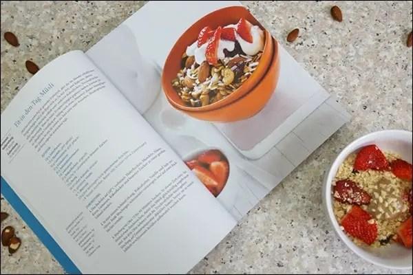 Das grosse Eat-Clean Kochbuch und Müsli Rezept