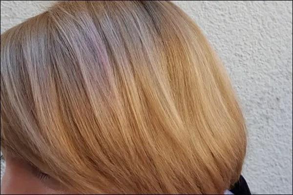 Syoss Pastellspray auf Mittelblond