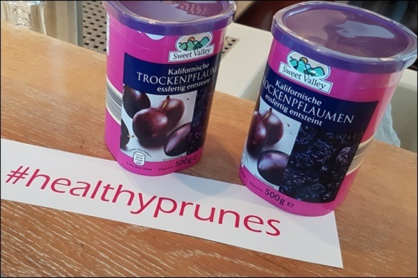 #healthyprunes Backen mit Trockenpflaumen Workshop in Frankfurt
