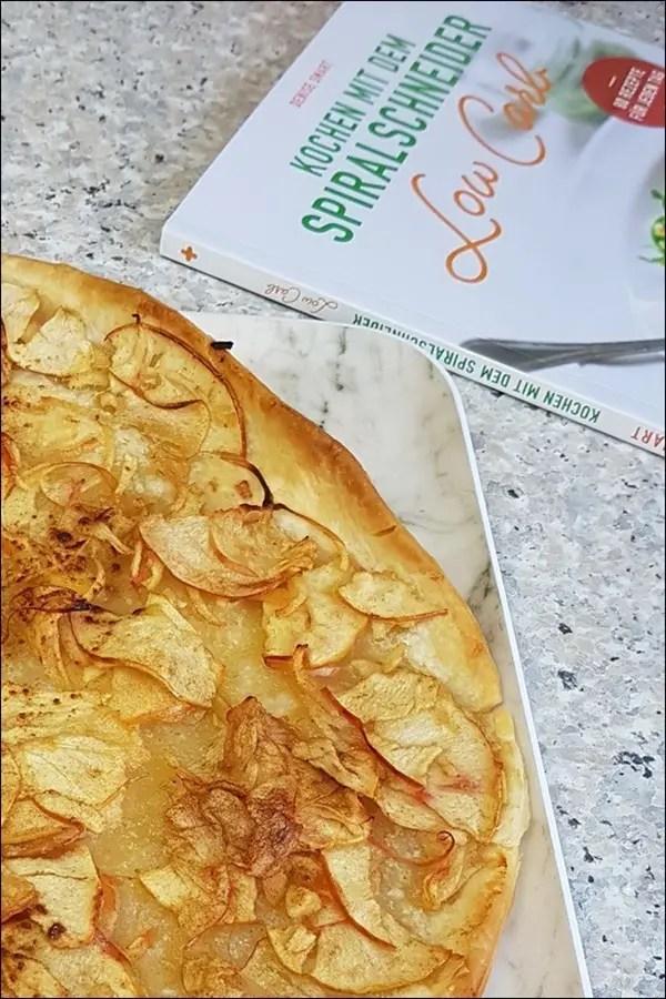 Schneller Apfelkuchen - Kochen mit dem Spiralschneider