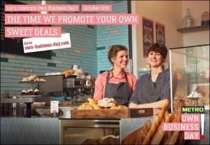 METRO Own Business Day mit Gewinnspiel
