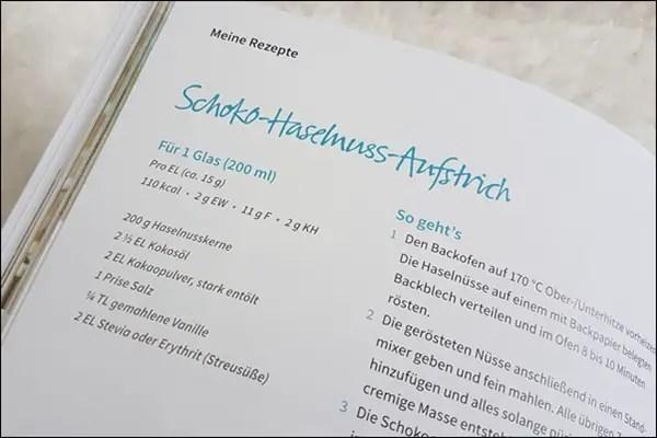Sophia Thiel Schoko-Haselnuss-Aufstrich