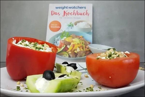 Weight Watchers gefülltes Gemüse