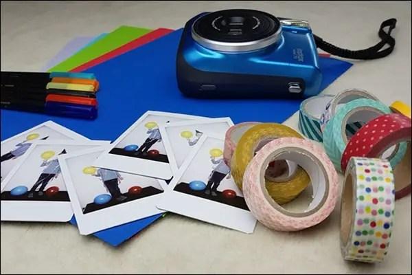 ideen mit der instax einladungskarten f r kindergeburtstag basteln honey. Black Bedroom Furniture Sets. Home Design Ideas