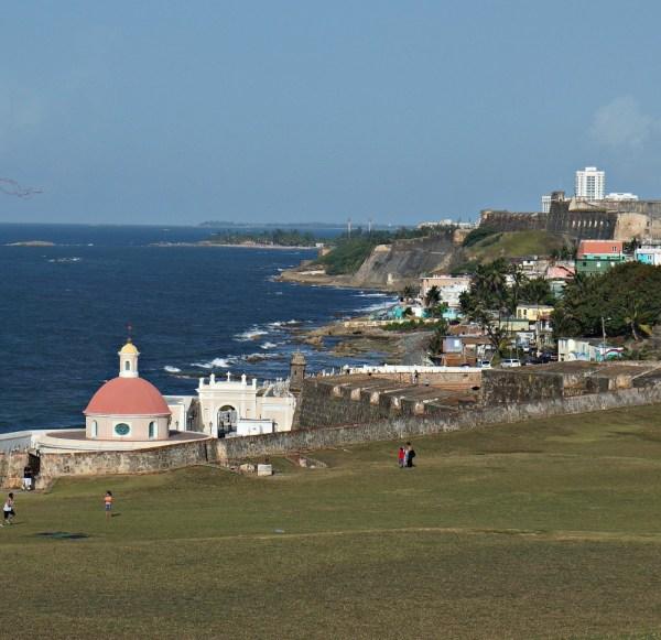 Old San Juan Coastline