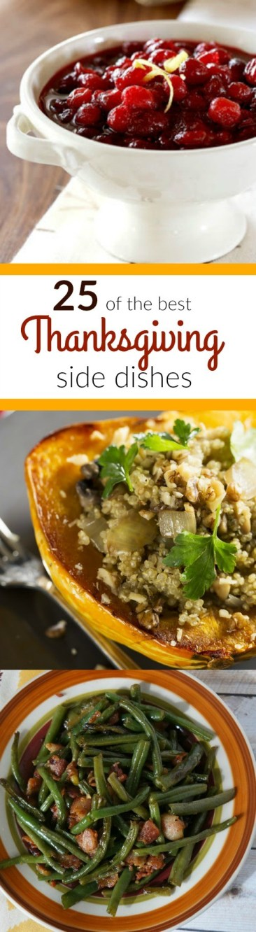 25 of the Best Thanksgiving Side Dish Recipes to Try