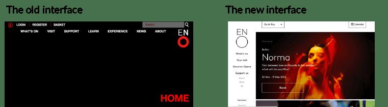 ENO UI / UX DESIGN