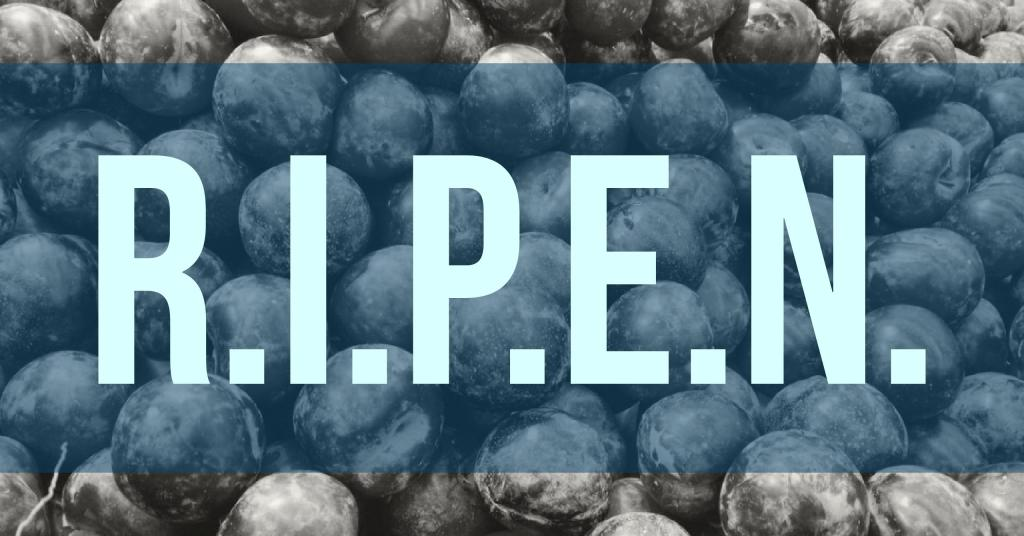 RIPEN - Another Marketing Acronym