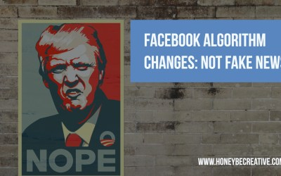 Facebook Algorithm Changes – Not FAKE NEWS