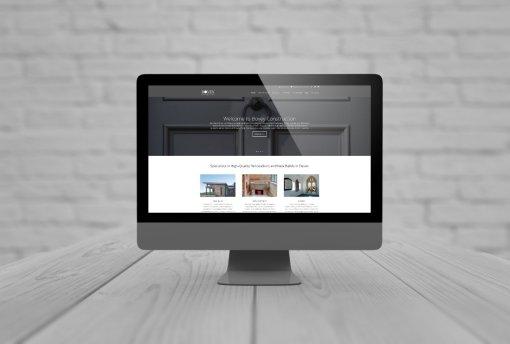 Website Design for B2B Firm