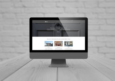 Website Design for B2B Firm