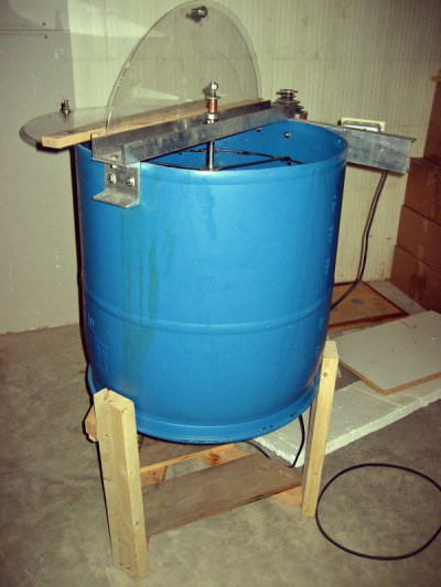 A homemade extractor.