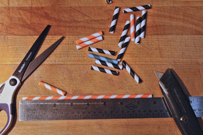 Cut-straws-to-proper-length