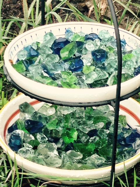 Andrew Graham Sea Glass Water Dish