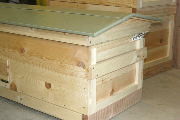 how to remove a small beehive