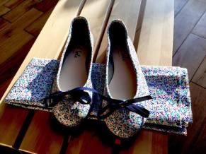 customised bridal shoes