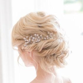 Crystal wedding hair pins - Azalea