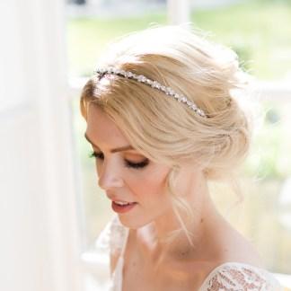Crystal wedding hairband - Callia