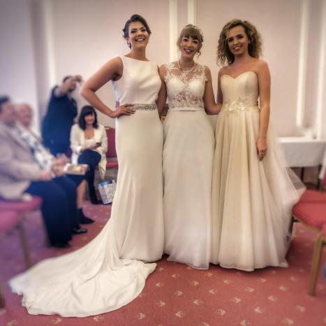 Wedding shop models