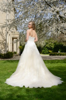 Catherine Parry Harriet wedding dress