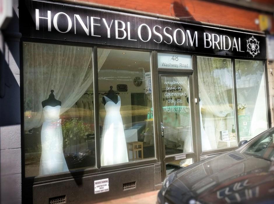 Honeyblossom Bridal boutique, Cheshire
