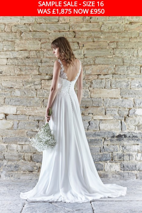 So Sassi Angela wedding dress sample sale