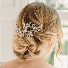 Crystal bridal hair comb - Gabriella