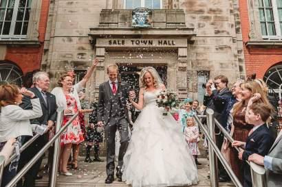 Real bride Jane veil