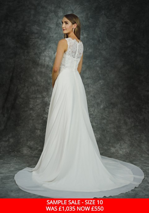 Catherine Parry 1508 bridal gown sample sale
