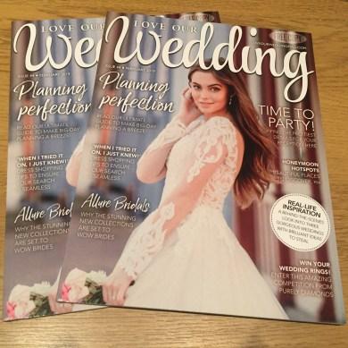 Free Love Our Wedding magazine