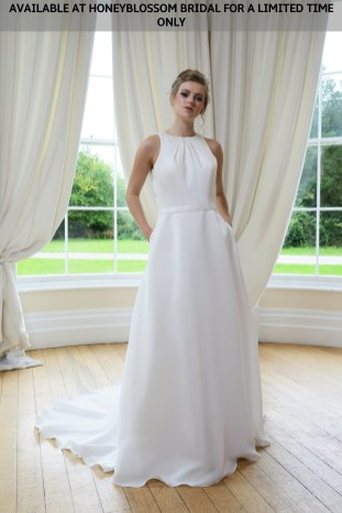 Catherine Parry Cate wedding dress - Available at Honeyblossom Bridal for a limited time only