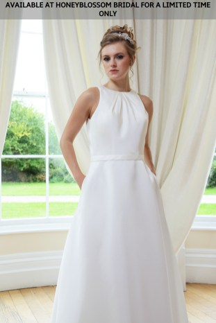 Catherine Parry Cate wedding gown - Available at Honeyblossom Bridal for a limited time only