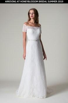 MiaMia Kallista wedding dress coming soon to Honeyblossom Bridal