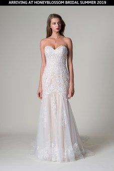 MiaMia Paulina wedding gown coming soon to Honeyblossom Bridal